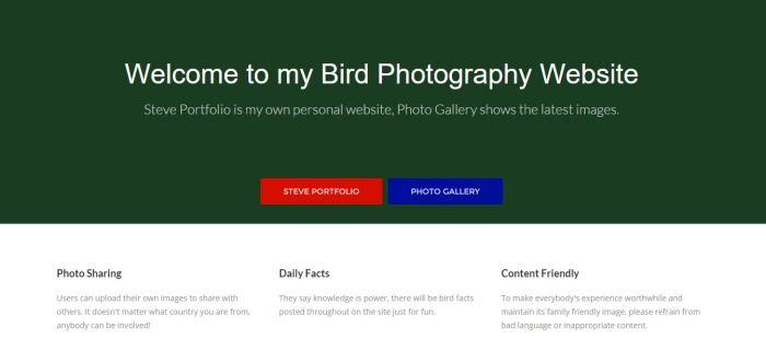 Homepage Nov